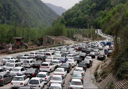 ترافیک به سمت استان های شمالی بسیار سنگین است