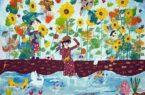 نقاشی های کودکان ایرانی  برندگان مسابقه ی زمین در سال ۲۰۳۰ «جی کیو آی» ژاپن شدند.